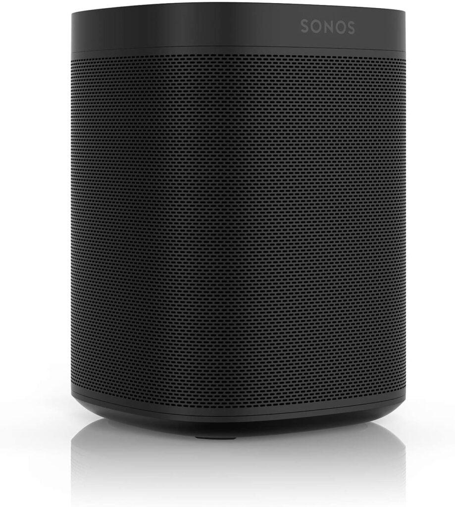 Optisch präsentiert sich der Sonos One SL klassisch-elegant.